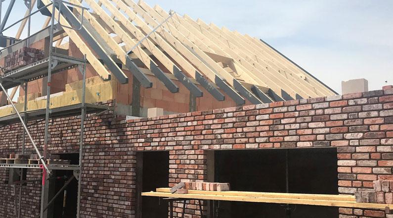Wassenberg Dach und Klinkern